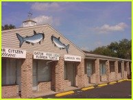 Exterior view of the Catfish Place St. Cloud, Florida