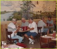 Hungry customers eating our delicious catfish - The Catfish Place St. Cloud, Florida
